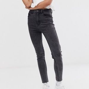 Black high waisted jeans - never worn